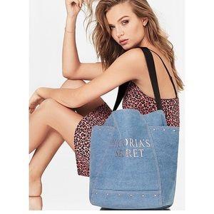 NWT Victoria's Secret | Denim Shoulder Bag